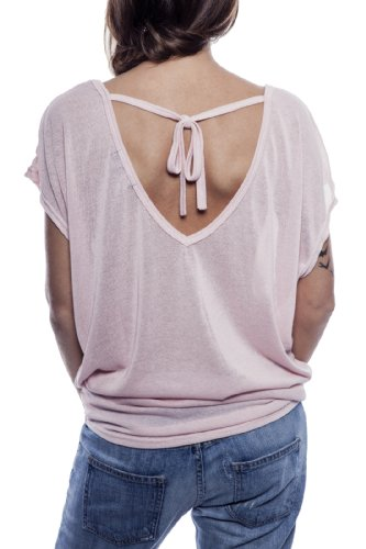 Light Rose Jade Sexy Top Manue Ella Women 67q4X4