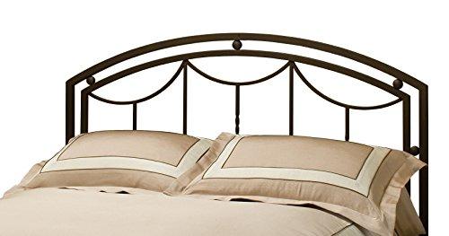 Hillsdale Furniture 1501HKR Arlington Headboard with Bed Frame King Bronze -