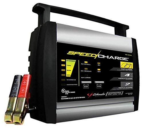 Schumacher SC-600A-CA 6/4/2 Amp Charger And Maintainer