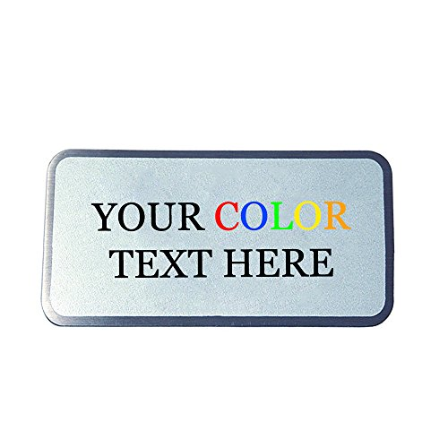 Custom Printed in Full Color Silver 1-1/2