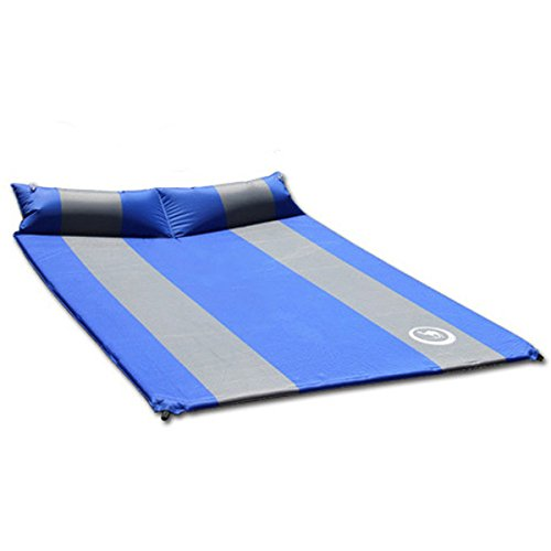 Automatic Double Thick Inflatable Mattress With Pillow Air