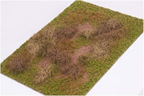 マーティンウェルバーグ 草原 マットタイプ 全高12mm/1枚 冬 パウダー付き ホビー用素材 WB-M057