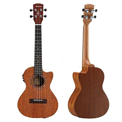 Alvarez Artist Series RU22CCE Concert Size Electric/Acoustic Mahogany Ukulele by Alvarez