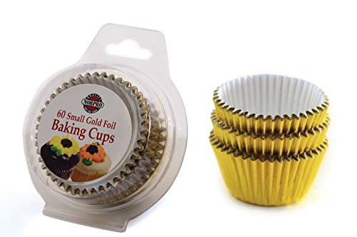 Cupcake Enclosure (NORPRO 3594 Gold 60 Small Cupcakes, Muffins, Bonbons or Candy)