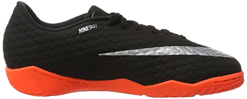 NIKE Youth Hypervenomx Phelon III Indoor Shoes [Black] (4.5Y) by NIKE (Image #6)