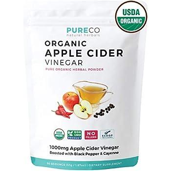 Amazon Com Usda Organic Apple Cider Vinegar Powder With