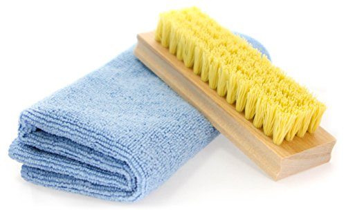 InstaNew Shoe Cleaner Kit by Includes Premium Brush and Microfiber Cloth for All Shoe Types by InstaNew (Image #1)