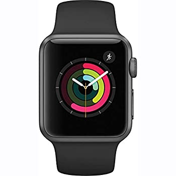 Apple Watch Series 1 38mm Smartwatch (Space Gray Aluminum Case, Black Sport Band) 1