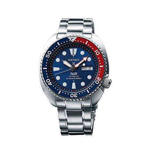 Seiko Women's SRPA21 Prospex X Padi Analog Hand and automatic, Silver Watch