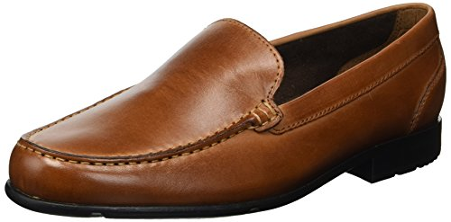 Rockport Men's Commercial Director Venetian Shoe, Cognac, 11 W US -