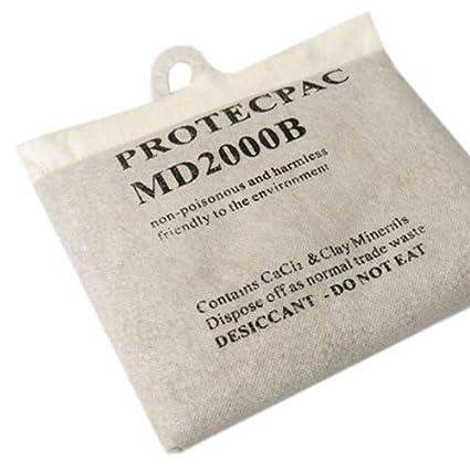 Deshumidificador reutilizable sin recargas bolsa de 2 Kg ...