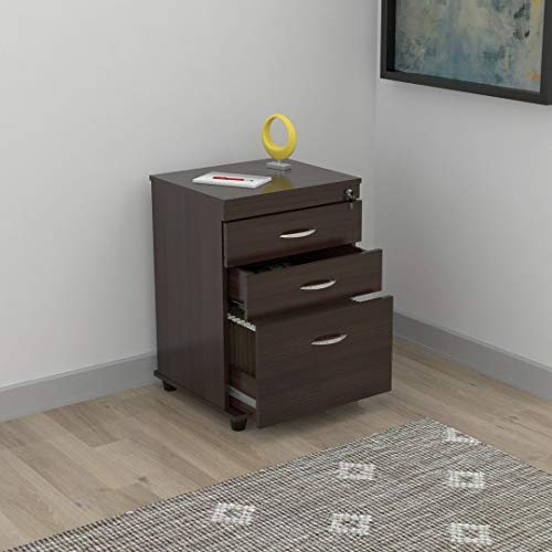 Inval America Uffici Commercial Collection 3-Drawer File Cabinet