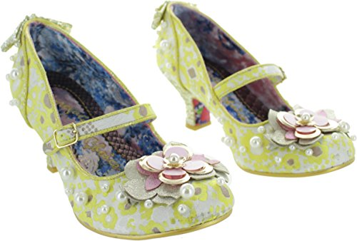 Irregular Choice Tiddly Winks, Damen Pumps Gelb Gelb