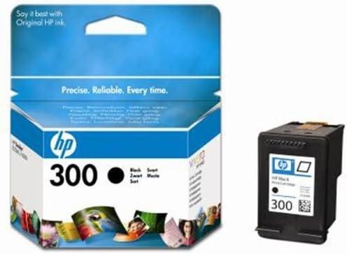 HP 300 - Cartucho de Tinta para impresoras (Negro, 200 páginas ...