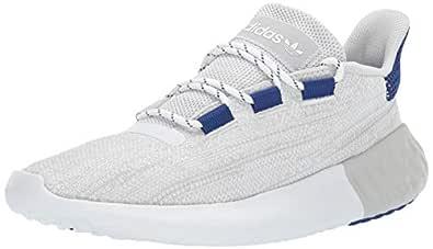 adidas Originals Men's Tubular Dusk Running Shoe, Grey/White/Mystery Ink, 6 M US