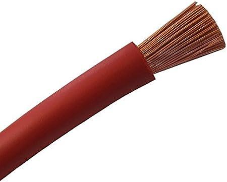 5 Mètre Bobine 16 mm² 110 Amp Rouge Flexible Câble De La Batterie automobile /& Marine