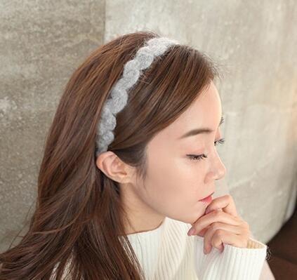 Amazon.com  usongs headdress hair accessories twist woven wool ... c3576808c77