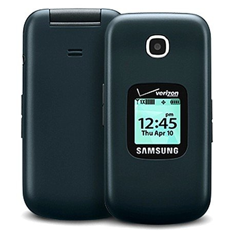 Samsung Gusto 3 Verizon, Page Plus No Contract Flip Cell Phone - Midnight Blue