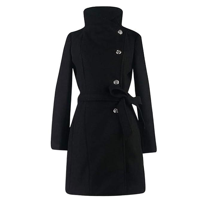 footwear release date los angeles KaloryWee Winter Sale Coats Womens Winter Lapel Wool Coat Trench Jacket  Long Sleeve Overcoat Outwear