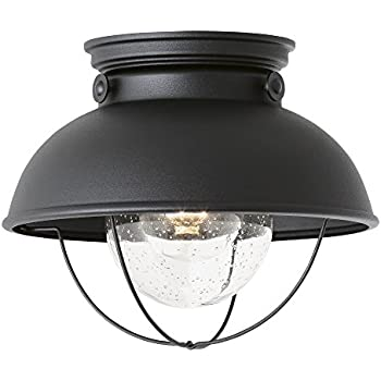Sea gull lighting 8869 12 sebring one light outdoor flush mount sea gull lighting 8869 12 sebring one light outdoor flush mount ceiling light with workwithnaturefo
