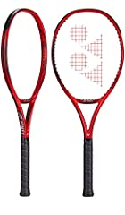 The longer version of Caroline Garcias Yonex Vcore 100 Tennis Racquet is back with a few nice tweaks. The Isometric head shape remains, and Aero Fin technology has been updated and added to the bridge for an aerodynamic response. At the top o...
