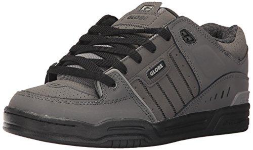 Globe Men's Fusion Skate Shoe, Charcoal/Knit, 7.5 Regular US (7.5 Fusion)