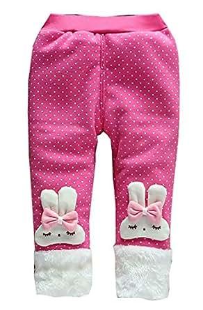 Amazon.com: Baby Girl Winter Warm Pants Plus Thick Velvet