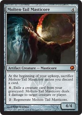 Magic Tails (Magic: the Gathering - Molten-Tail Masticore - Scars of Mirrodin)