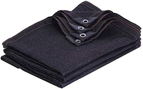 WZHIJUN オーニングシェード遮光ネット 黒 95% シェーディング率 老化防止 屋外の 温室 パティオ バルコニー シェーディングネット 23サイズ (Color : Black, Size : 10×10m)