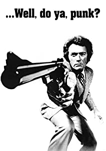 amazoncom clint eastwood dirty harry movie poster