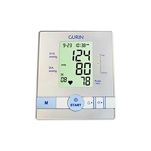 Monitor Inflate Blood Pressure (Blood Pressure Monitor Cuff Kit by Gurin, Digital BP Meter with Large Display, Upper Arm Cuff)