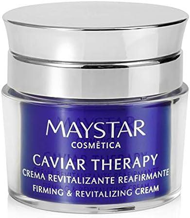 Maystar Skincare   Crema Facial Revitalizante Reafirmante con Extracto de Caviar   Caviar Therapy   50 ml