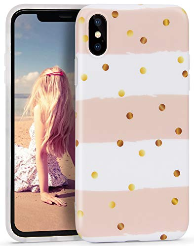 Imikoko iPhone Xs Max Case, iPhone Xs Max Marble Case, Slim Soft Flexible TPU Marble Pattern Cover for Apple iPhone Xs Max 6.5