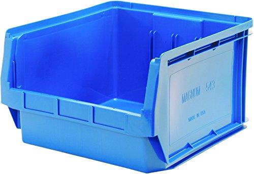 Quantum Storage Systems QMS543BL Heavy Duty Magnum Bin, 19-3/4