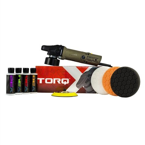 Buffer Kit - TORQ TORQX Random Orbital Polisher Kit (9 Items)
