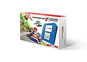 Nintendo 2DS Console with Mario Kart 7, Electric Blue - Standard Edition