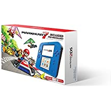 Nintendo 2DS - Electric Blue with Mario Kart 7