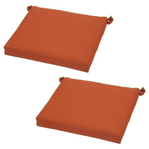 Threshold Harper Stationary Dining Chair Cushion - Orange
