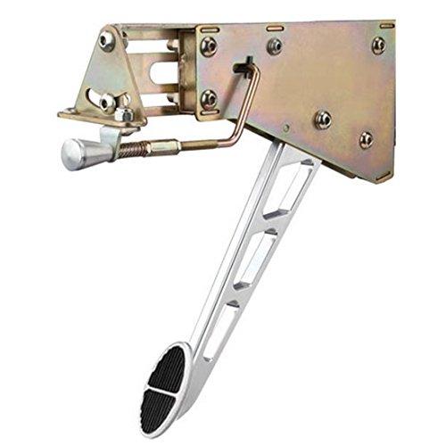 Lokar EFB-9010 Chromed Billet Aluminum Under-The -Dash Foot Operated Emergency Brake ()