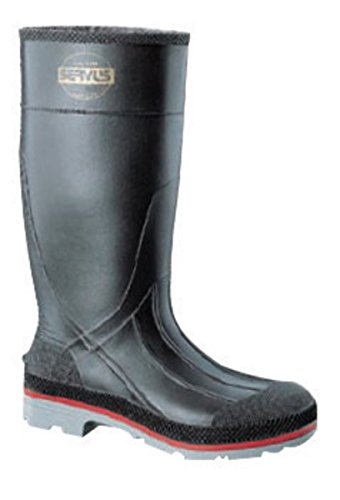 Honeywell N3875108-7 Servus by Size 7 Xtp Black 15 PVC Hi Boots with Dual compound Outsole, English, 15.34 fl. oz. Volume, Plastic, 15 x 7 x 1