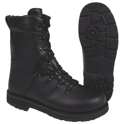 chaussures de combat BW, doublure cuir, Mod '2000', Taille:43