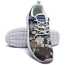 Armsttm Womens Lightweight Fashion Sneakers Amazing Glass Beach Casual Running Shoes