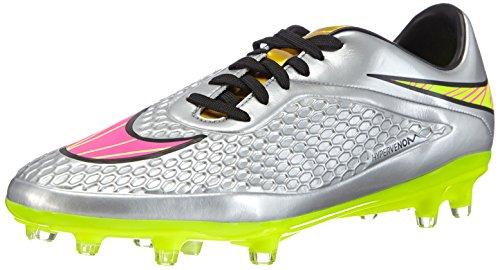 Nike Hypervenom Phelon Premium FG - Zapatillas de fútbol para hombre Chrome/Hyper Pink-Mtlc Gld Cn
