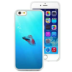 Durable and Newest Iphone 6 Case Design with Colorful Fish White Iphone 6th 4.7 Inch TPU Case