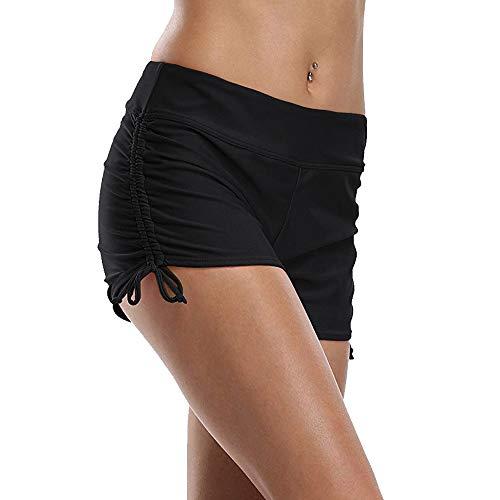 Tournesol Women's Boardshorts High Waist Boy Shorts Swim Beach Bikini Tankini Swimwear Boy Leg Bottoms ... ()