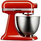 KitchenAid KEA25AH Batedeira Stand Mixer Artisan, Vermelho (Hot Sauce)