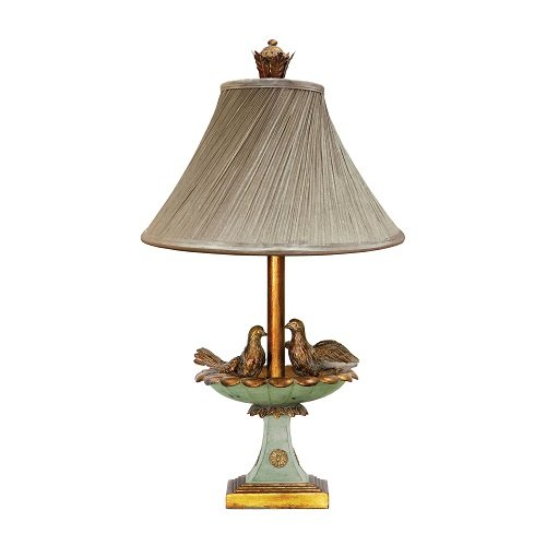 Sterling Home 91-786 Love Birds in Bath Table Lamp