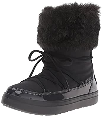Amazon.com | Crocs Women's Lodge Point Lace Snow Boot | Shoes