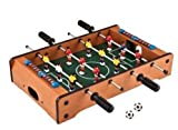 Wooden Mini Foosball Tabletop Set
