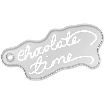 Azeeda Tiempo de Chocolate Llavero Grande (AK00036849 ...